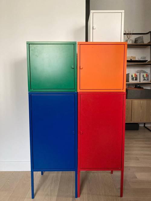Ensemble de rangements Lixhult Ikea