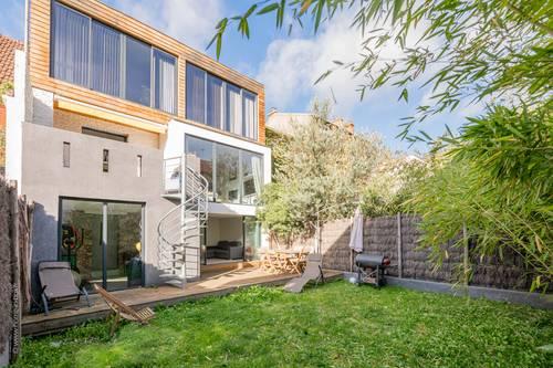 Vends maison de 151m² - 7pièces - 5chambres - Jardin de 80m² - Asnieres sur Seine (92)