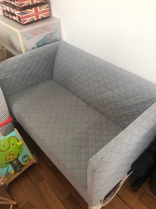 Vends canapé IKEA gris