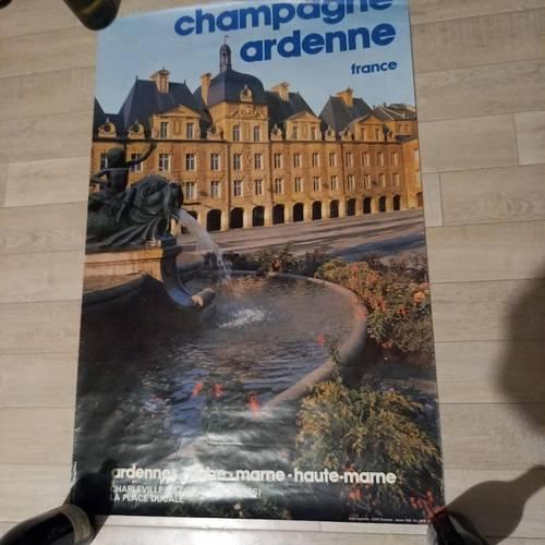 Affiche de Charleville Mézières, la place Ducalle