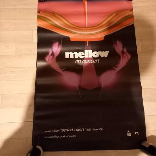 Affiche Mellow en concert, perfect color