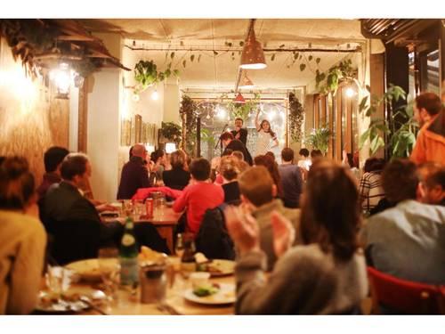 Restaurant avec terrasse à privatiser pour réceptions, Paris 20ème