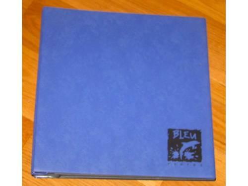 Album photos bleu - taille 32,5cm x 33,5cm