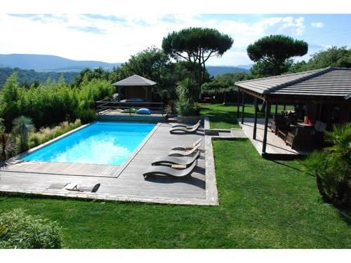 Loue villa****, 200m², 6couchages, 3chambres clim, piscine 10x5, spa - Gassin - La Croix-Valmer (83)