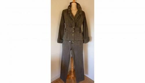 Tailleur veste + pantalon demi-saison taille M
