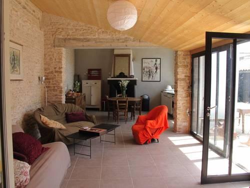 Loue La Couarde (ile de ré) maison de village de charme 11personnes