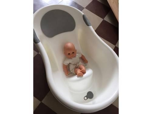 Prête baignoire bébé 0-7mois avec assise