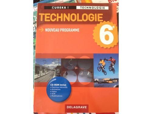 Vends livre Technologie Eureka 6ème