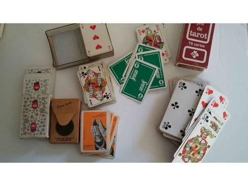 5jeux de cartes dont 1ancien akerman