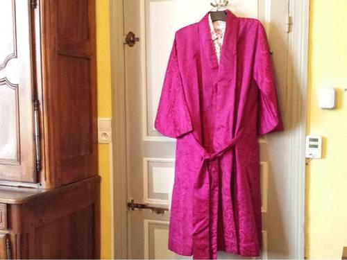 Vends Veritable Kimono en Soie double soie
