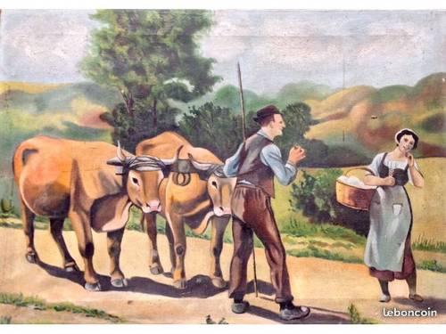 Vends tableau au pays basque