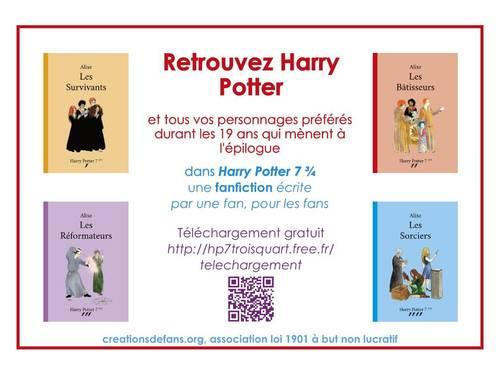 Une suite au roman Harry Potter: téléchargement gratuit