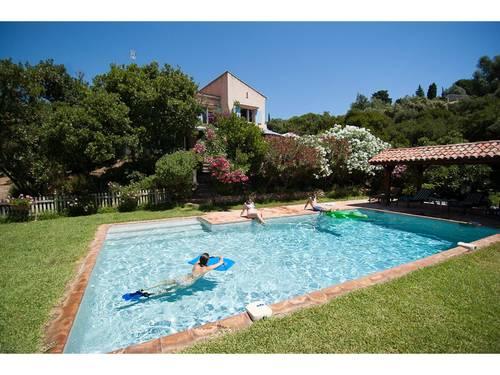Loue villa 6personnes piscine chauffée, jacuzzi,- Côte d'Azur