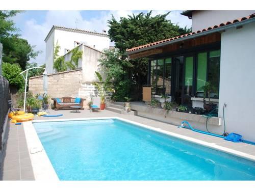 Loue belle villa, 175m², 8couchages, avec piscine, Montpellier (34)