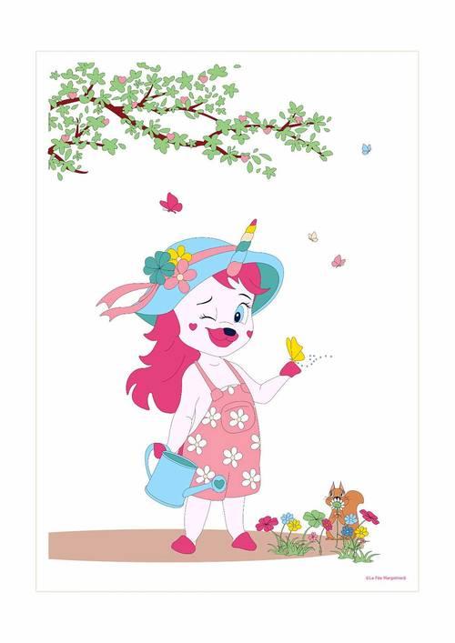Affiche Lily chanceuse - 21x29.7cm