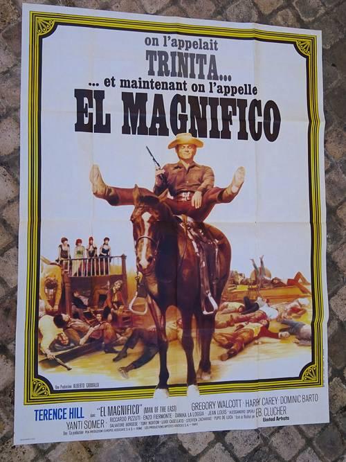 Affiche de cinéma On l'appelait Trinità … Et maintenant on l'appelle E