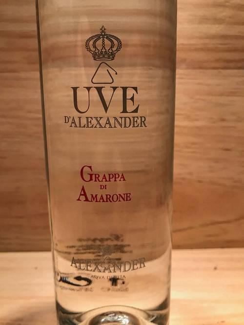 Alexander Grappa di Amarone, 0.5l, 38% vol, avec boîte métal