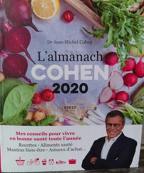 L'almanach COHEN 2020