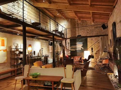 Loue ancien moulin transformé en loft, 2couchages, 1chambre - Angoulême (16)
