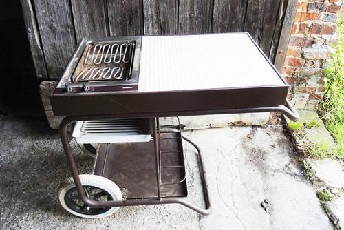 Vends ancien barbecue Roulant Gaggenau