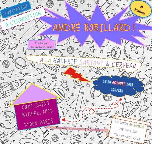 Exposition anniversaire André Robillard