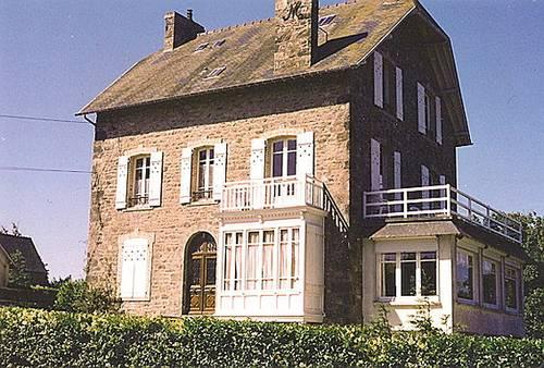 Loue appart sur mer 8pers ds une maison de famille à St Lunaire