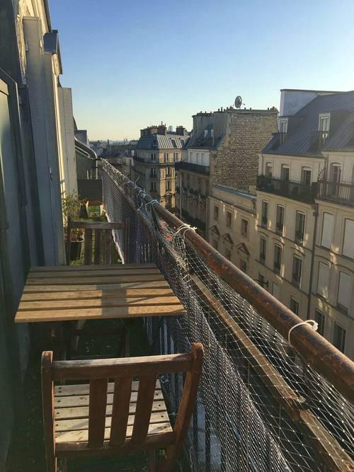 Propose Appartement avec balcon dans Paris 10ème - 4couchages