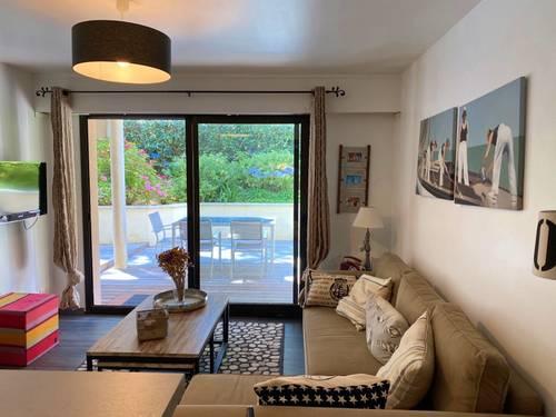 Loue appartement La Baule Escoublac (44) 2ch / 4couchages, Rez de jardin
