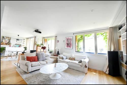 Vends appartement 6p, 4ch 116m²+ balcon, Quartier Princes Marmottan, Boulogne-Billancourt (92)
