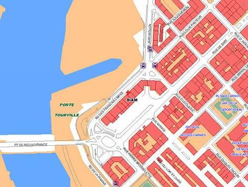 Loue Appartement T3Brest (29) entre Siam et Penfeld - 68m²
