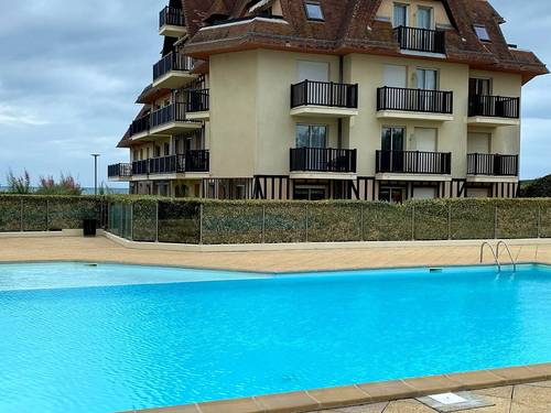 Loue appartement Cabourg 3pièces dans résidence sur mer avec piscine