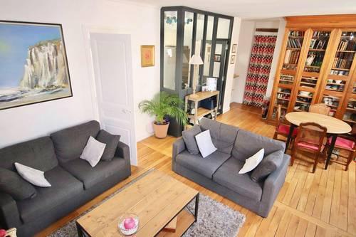 Vends appartement 3chambres - 100m², Asnières-sur-Seine (92)