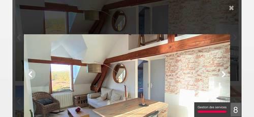 Loue appartement de charme avec très belle vue à Saint Mammés (77)