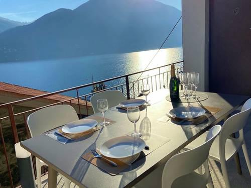 Loue magnifique appartement sur le lac de Côme (5couchages)