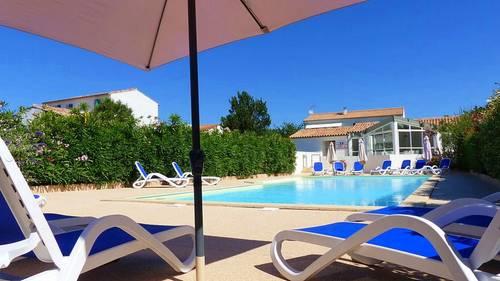 Loue appartement 4couchages, avec piscine, dans résidence - La Flotte (17)