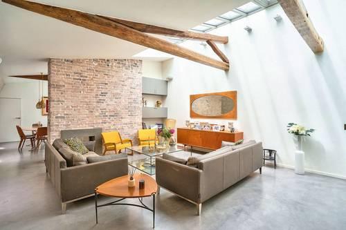 Vends appartement en Dernier étage - 4chambres - 142m² - Paris 2ème