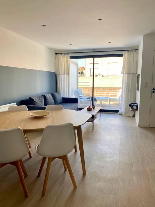Loue appartement neuf hyper centre Touquet (65) avec terrasse - 2chambres