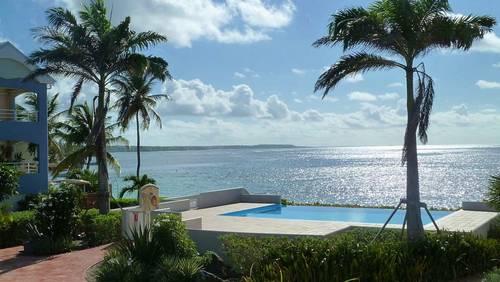 Loue appartement 5couchages, 2chambres en bordure du lagon de Sainte Anne, Guadeloupe (97) - Blue Karukera