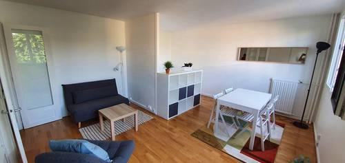 Loue appartement meublé 40m² - 2pièces - Asnières sur Seine (92), quartier BAC