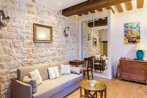 Loue appartement T2meublé de caractère - 43m², Paris 2ème