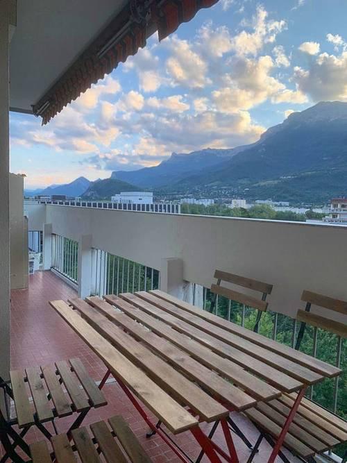 Propose appartement meublé 3chambres en Colocation - Grenoble (38)
