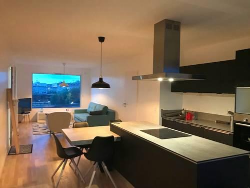 Loue bel appartement T3meublé Île de Nantes (44) libre 15juin 2021- 69m²
