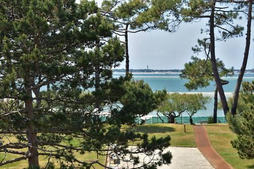 Loue T2au Moulleau à Arcachon (33) avec vue et accès direct à la plage - 2couchages