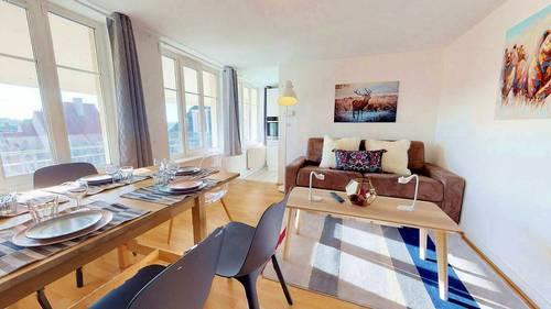 Loue appartement meublé T4centre ville Strasbourg (67) à partir du 1er sept 2021