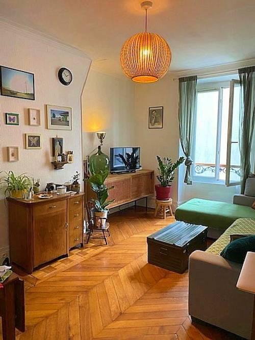 Propose place dans colocation quartier des Batignolles - Paris 17èmeAppartement 56m²