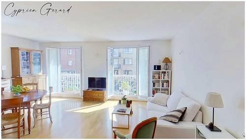 Vends Appartement 4pièces avec balcon et cave, Métro croix de chavaux - 80m² - Montreuil (93100)