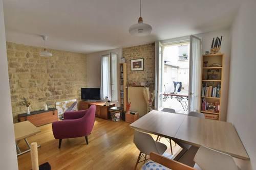 Vends Appartement 2pièces - 50m² - Coeur Batignolles - Paris 17ème