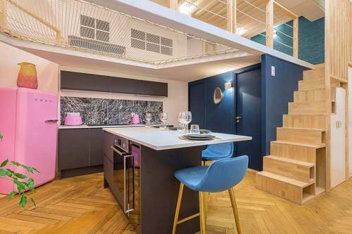 Loue appartement Lyon Presqu'ile CORDELIERS - 1chambre 4couchages