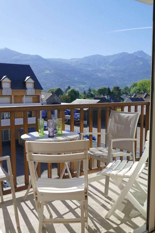 Loue Appartement Htes Pyrénées6couchages - résidence calme récente