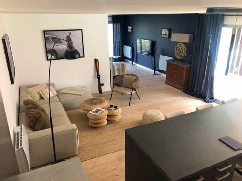 Loue appartement au coeur du triangle d'or du Touquet (62) - 90m² - 6couchages
